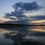 Sonnenuntergang Talsperren-Angelguiding.de